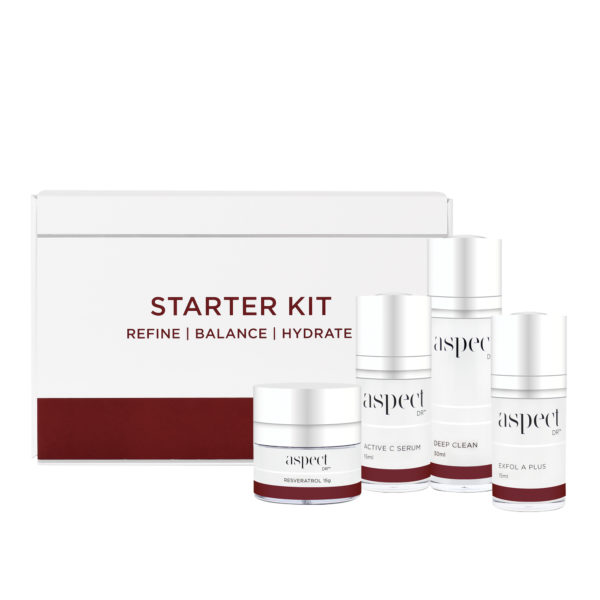 Starter Kit Aspect Dr with products 1